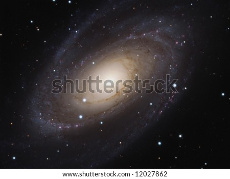 M81 Bode's Galaxy - stock photo