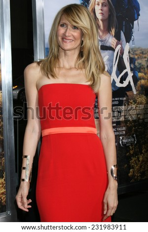 """m LOS ANGELES - NOV 19:  Laura Dern at the """"Wild"""" Premiere at the The Academy of Motion Pictures Arts and Sciences on November 19, 2014 in Beverly Hills, CA - stock photo"""