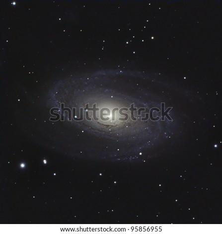 M81 or Bode's Nebula - stock photo