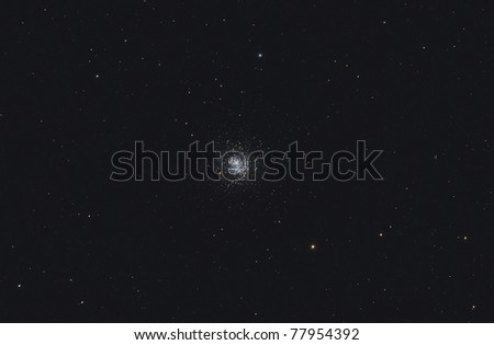M13, The Great Cluster in Hercules - stock photo
