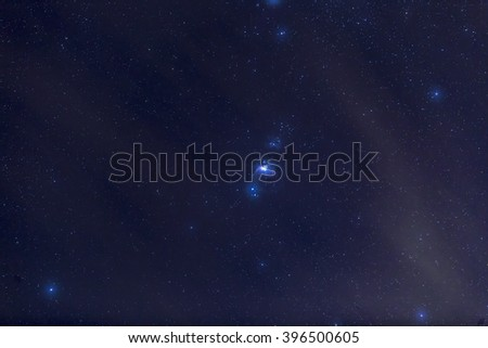 M42 - The Orion Nebula - stock photo