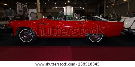 Classic Ford Thunderbird Stock Images Royalty Free