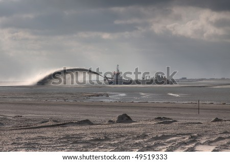 Maasvlakte 2 Project - stock photo