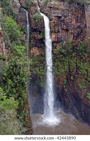 Mac Mac Falls South Africa - stock photo