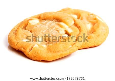 Macadamia Nut Cookies - stock photo