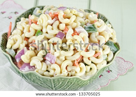 Macaroni Salad Clipart Macaroni Salad With Mayonnaise