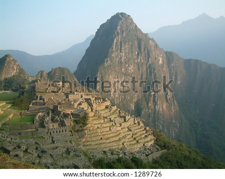 Macchi Piccu - stock photo