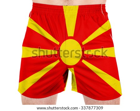 Macedonia flag  - stock photo