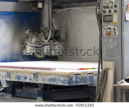machinery to work with marble