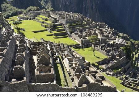 Machu Picchu. Peru - stock photo