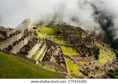 Machu Picchu, Peru. - stock photo