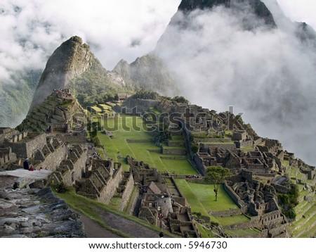 Machu Picchu (Peru) - stock photo