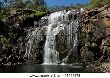 MacKenzie Falls, Grampians National Park, Victoria, Australia - stock photo