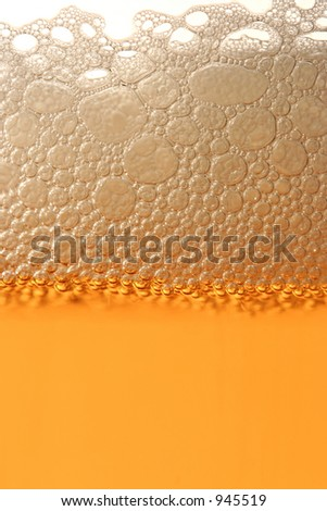 Macro abstract of Beer - stock photo