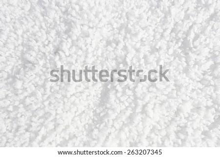 macro bizarre texture of snow and ice - stock photo