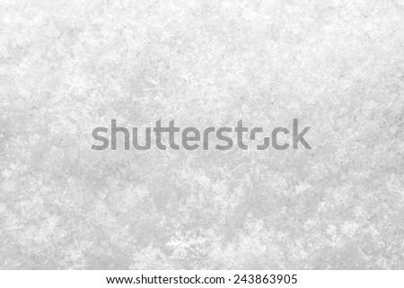 macro close up of fresh white now texture - stock photo