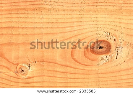 Macro detail of a 2x4 pine board lumber. - stock photo