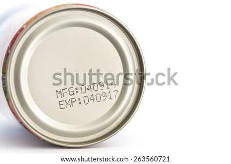 Food Stamp Canned Date