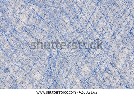 Macro image of air filter shot against a white background. - stock photo