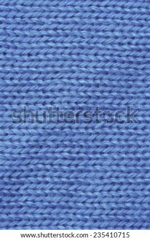 Macro of Knitting Pattern - Detail of homemade Clothing - stock photo