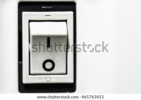 Macro of ON-OFF switch button