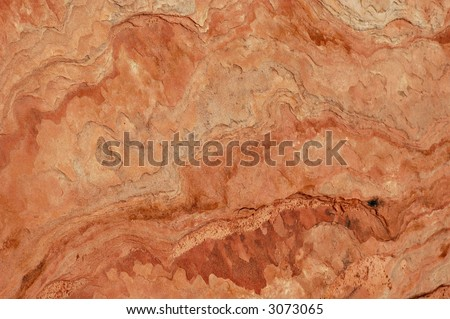 Macro of sandstone texture for use as a background.  Zion National Park, Utah
