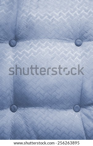 Macro shot of vintage style fabric with button texture from sofa - stock photo
