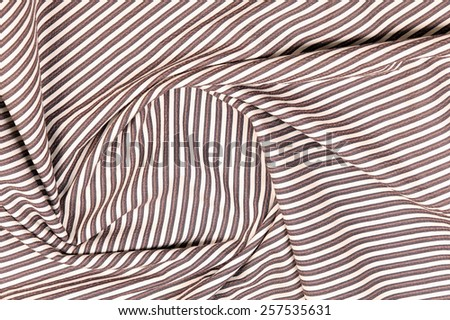 macro texture fragment striped fabric studio  - stock photo