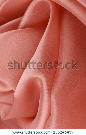 macro texture of pale pink satin studio  - stock photo