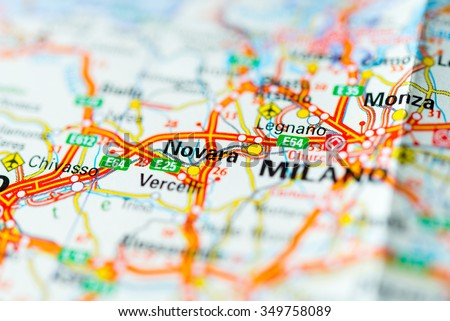 Map Of Novara Images Stock Photos Vectors Shutterstock
