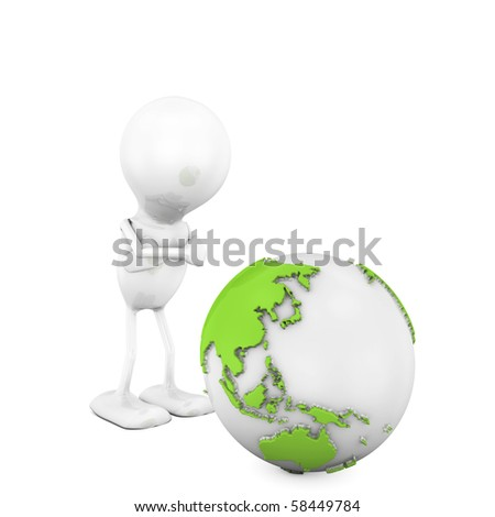 Mad at the Planet - stock photo