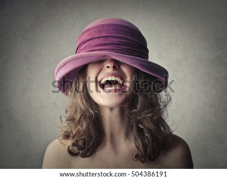 Mad hatter laughing