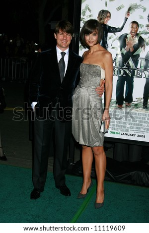 Mad Money Premiere held at Mann Village Theater, Los Angeles Tom Cruise, Katie Holmes