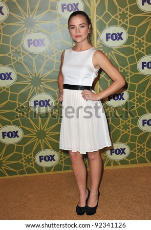 Maddie Hasson, star of The Finder, at Fox TV's Winter 2012 All-Star Party at Castle Green in Pasadena. January 8, 2012  Pasadena, CA Picture: Paul Smith / Featureflash - stock photo