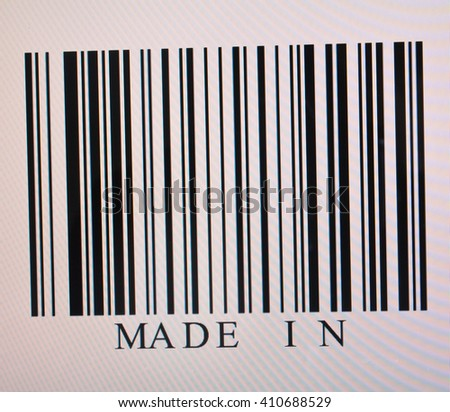 made in barcodes