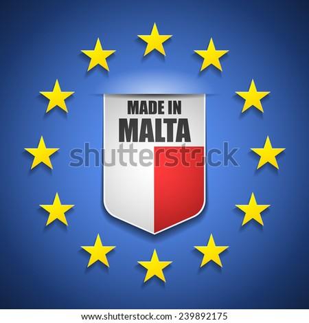 Made in Malta - stock photo