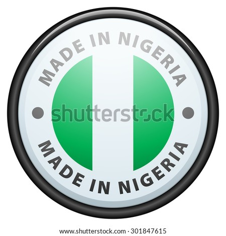 Made in Nigeria - stock photo