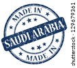 made in Saudi Arabia stamp - stock vector