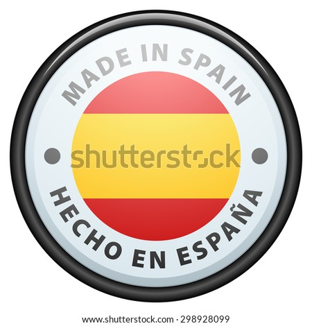 Made in Spain (non-English text - Made in Spain)