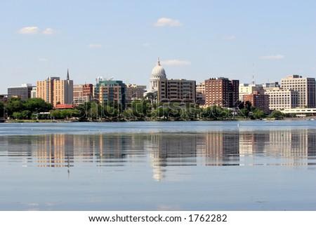 Madison, Wisconsin - stock photo