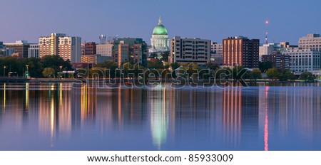 Madison,  Wisconsin. - stock photo