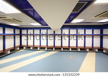 Locker room stock photos images pictures shutterstock for Garderobe real