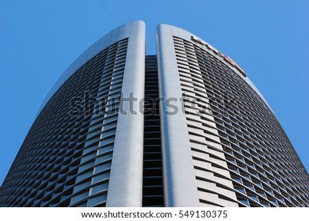 madrid spain december the torre pwc floor