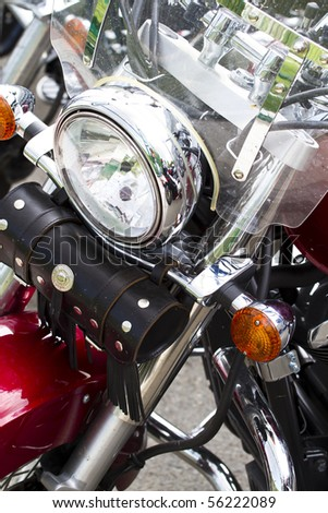 Madrid, Spain. 26 June 2010. Harley Davidson meeting. - stock photo