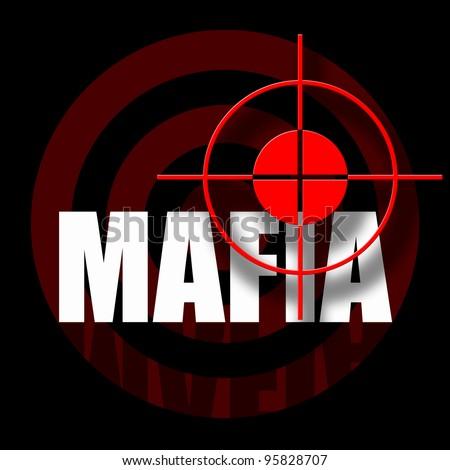 Mafia - stock photo
