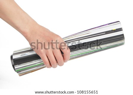 Magazine - stock photo