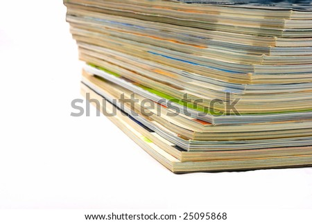 Magazine 1 - stock photo
