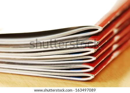 magazines - stock photo