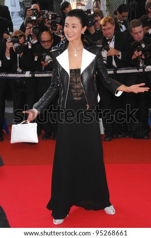 Maggie Cheung at the 60th anniversary gala at the 60th Annual International Film Festival de Cannes. May 20, 2007  Cannes, France.  2007 Paul Smith / Featureflash