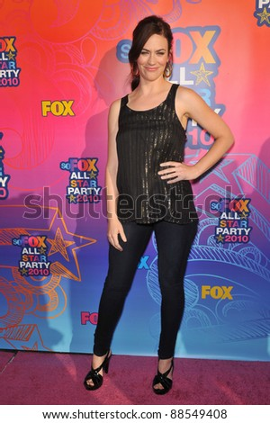 "Maggie Siff - star of ""Sons of Anarchy"" - at Fox TV's All Star Party at Santa Monica Pier. August 2, 2010  Santa Monica, CA Picture: Paul Smith / Featureflash"